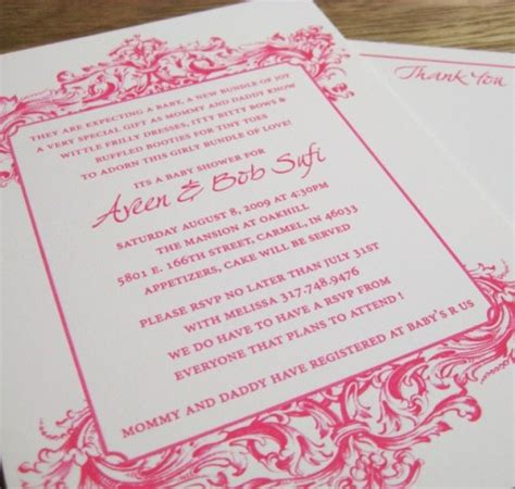 Sle Of Baby Shower Invitation Card by We Had A Baby New Custom Letterpress Baby Shower