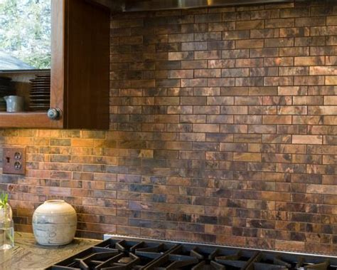 antique copper backsplash tiles great home decor