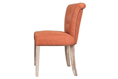 orange dining chairs lexi orange dining chair