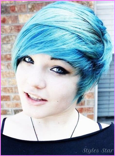 emo haircuts for round face short haircuts for emo girls stylesstar com