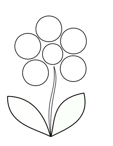 friendship flower template gallery templates design ideas
