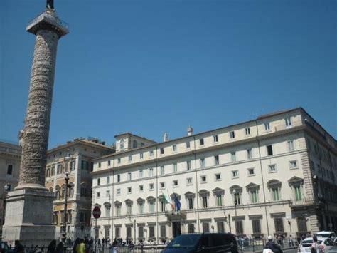 sede inps roma aurelio colonna di marco aurelio e palazzo chigi foto di piazza