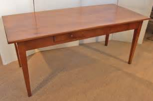 Cherry Kitchen Table Cherry Wood Farm House Table Kitchen Table 302483 Sellingantiques Co Uk