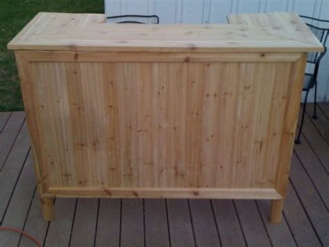 Handmade Bars - cedar outdoor tiki bar handmade diy stuff i ve built