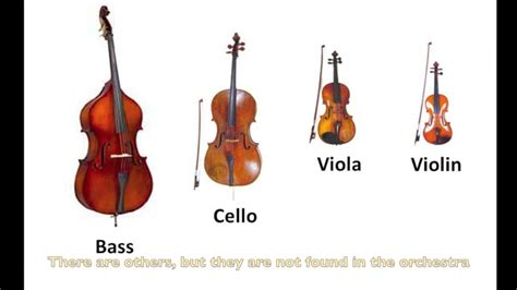 string section instruments instruments of the orchestra strings part 9 listening