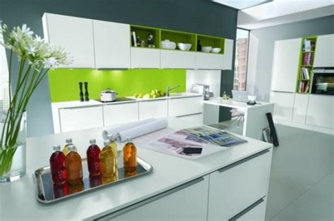 contemporary kitchen ideas 2014 15 cocinas modernas con gabinetes color blanco