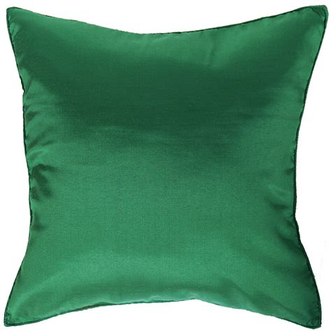 1x Silk Large Decorative Throw Pillow Cover For Couch Sofa Pillow Covers For Sofa