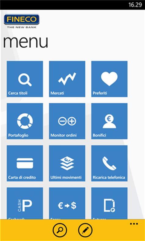 fineco it mobile nokia lumia una selezione di app per il mobile banking