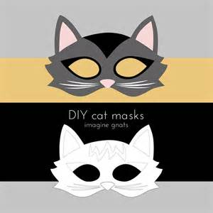 Cat Mask Template by Imagine Gnats Craft Handmade Costumes Cat Mask Tutorial