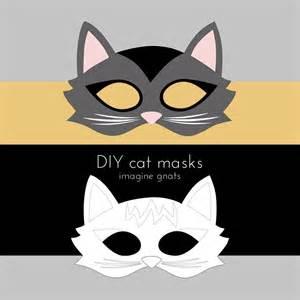 cat mask template imagine gnats craft handmade costumes cat mask tutorial