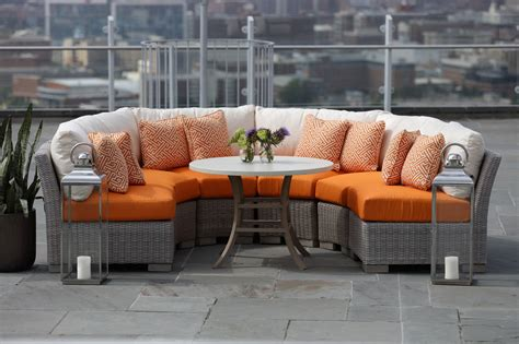small outdoor sectional sofa outdoor sectionals ideas into the glass small outdoor