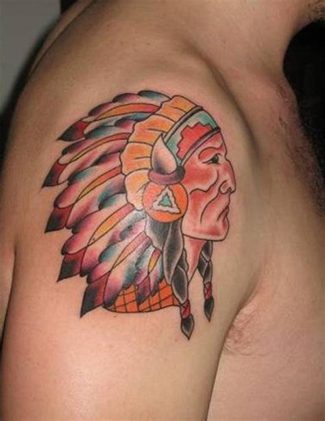 tribal chief tattoo indian tattoos designs ideas and meaning tattoos for you