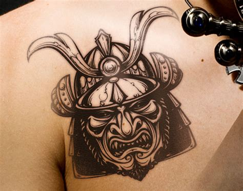 samurai helmet tattoo designs the gallery for gt traditional samurai mask