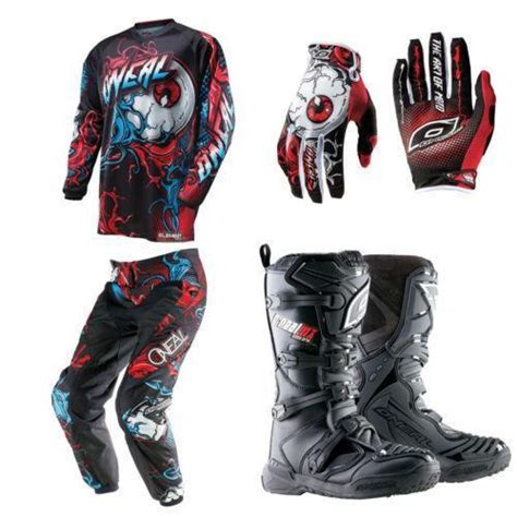 womens motocross gear packages motocross gear ebay