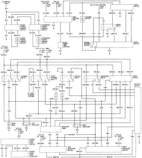 1987 nissan 300zx ignition wiring diagram 41 wiring