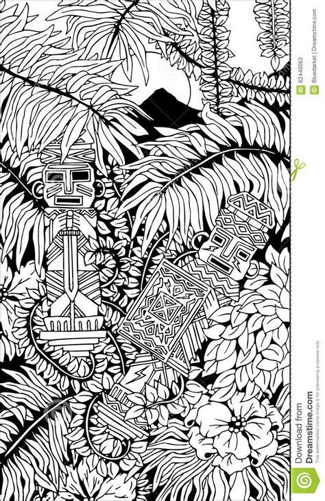 doodle god warrior precolumbian illustrations vector stock images