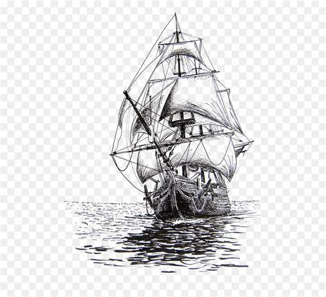 barco pirata dibujo a lapiz dibujo de barco de vela dibujo a l 225 piz velero 564 812