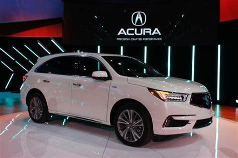 acura assistance new york auto show acura debuts 2017 mdx sport hybrid suv