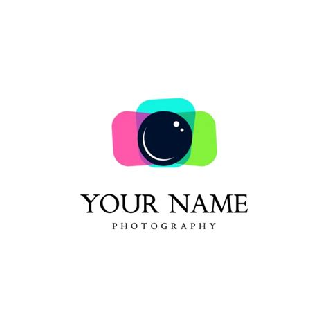 Camera Logo Template Vector Free Download Free Psd Logo Templates For Photographers