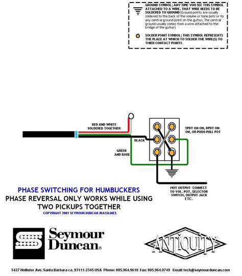 les paul out of phase wiring diagram wiring diagram with