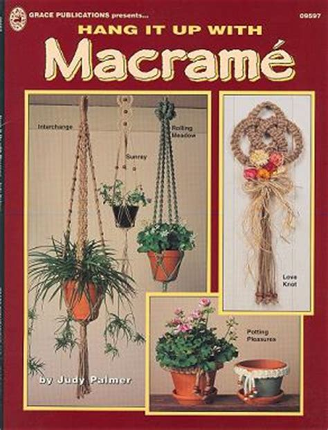 Macrame Books - free pattern 70s books gr9597 pattern books 3 macrame