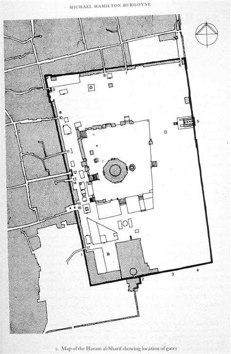 layout plan of masjid al haram id 9613 src site plan the haram al sharif