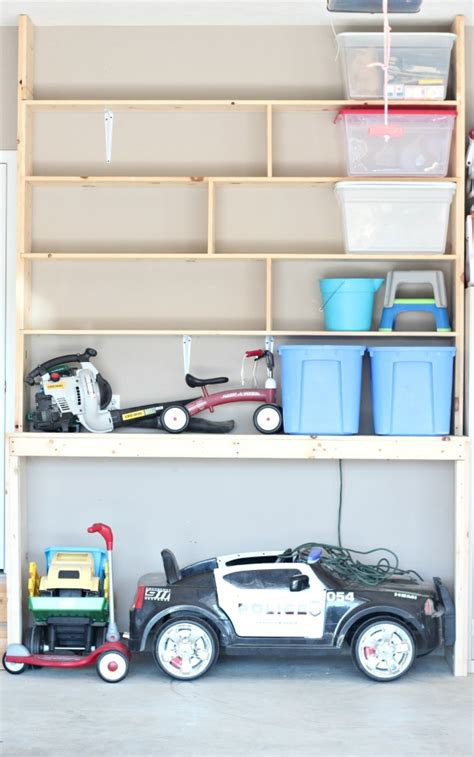 how to organize garage shelves how to organize your garage with custom built in shelving