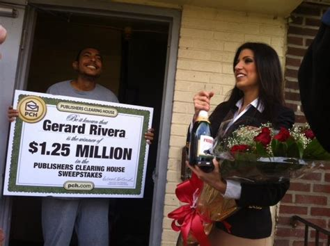 Pch Awards - prize patrol awards gerard rivera pchlotto 1 25 million jackpot pch blog
