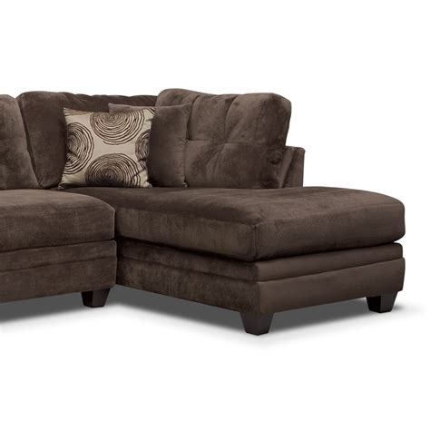2 chaise sofa 2 chaise sofa lounge ii grey chaise sectional crate and