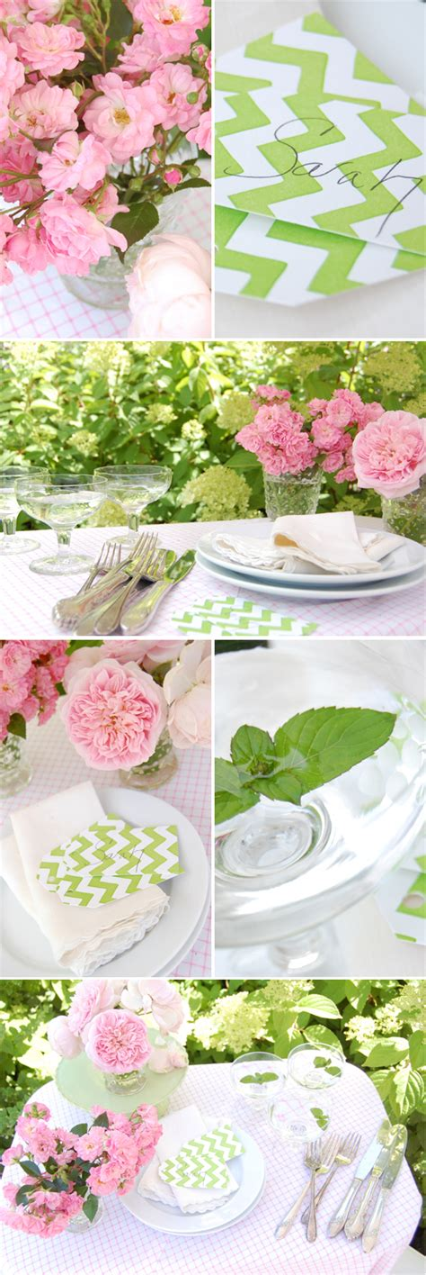 a pink and green garden wedding project wedding