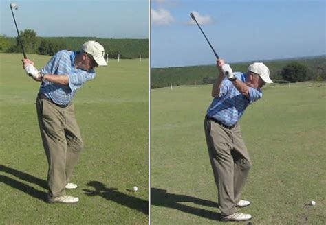 rotary golf swing video before and afters rotaryswing com