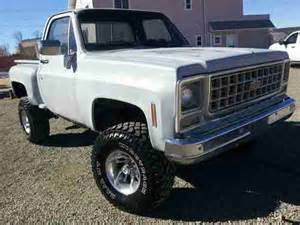 buy used 1980 chevrolet 4x4 lifted stepside in