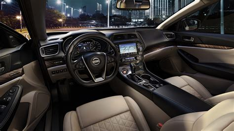 nissan maxima interior 2016 nissan maxima features interior nissan usa