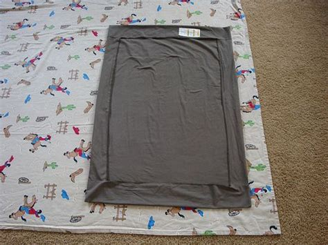 Pack And Play Crib Sheets by Sleepless Dreamer How To Make An Elastic Free Pack N Play