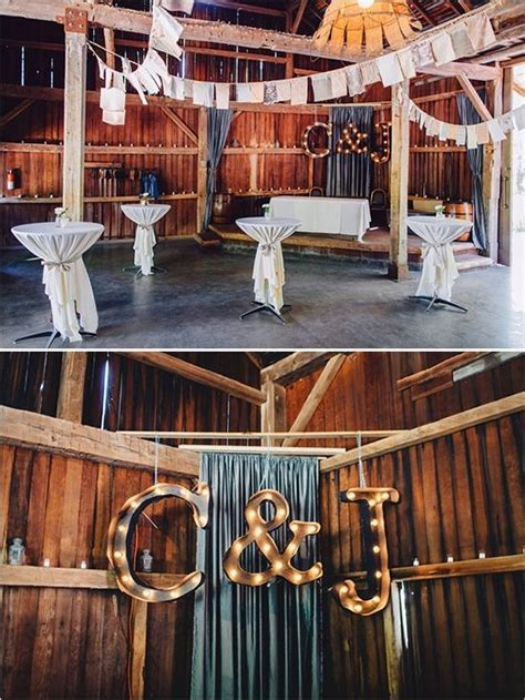 diy marquee sign lighting ideas  barn wedding reception