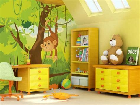 chambre jungle enfant d 233 coration chambre enfant sur les th 232 mes de safari et jungle