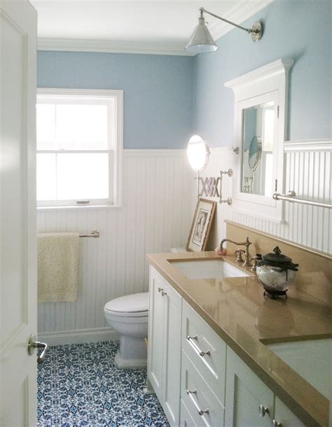 bathroom ideas with beadboard cozy cottage bathroom traditional bathroom other metro by blanton interiors