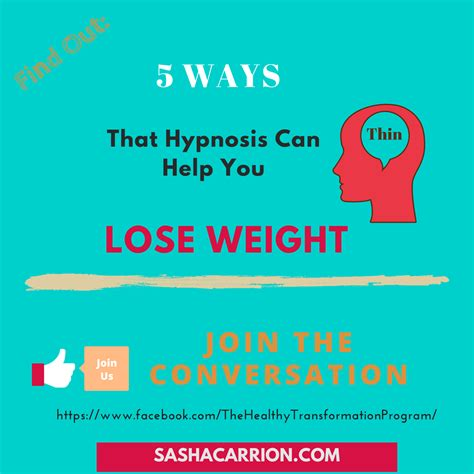 10 Ways Your Can Help You Lose Weight by Here Are The 5 Ways That Hypnosis Can Help You To Lose Weight
