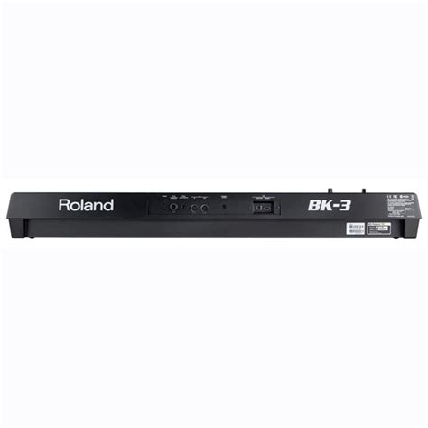 Keyboard Roland Bk 3 roland bk 3 compact backing keyboard black at gear4music