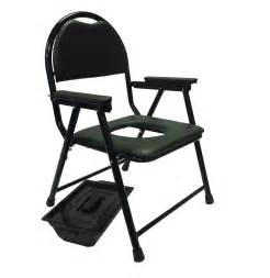 lightweight folding commode chair portable toilet padded
