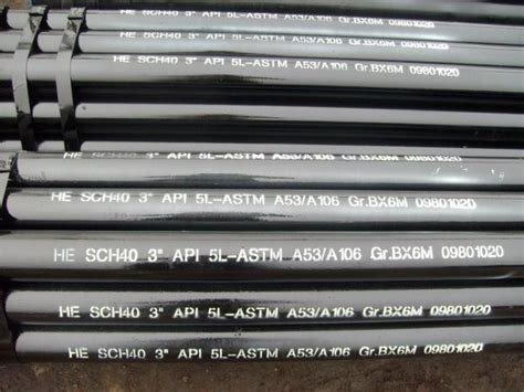 nace   api steel pipe high   carbon steel