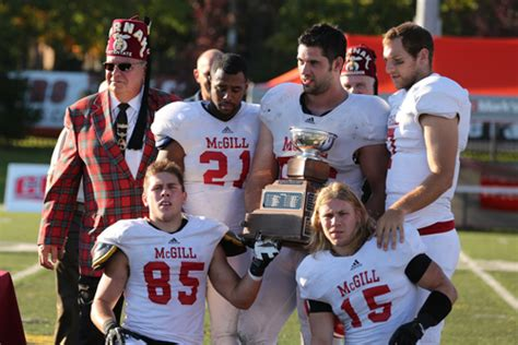 Mba Mcgill Vs Concordia by Dussault Shines In Shrine Bowl As Redmen Outlast Stingers