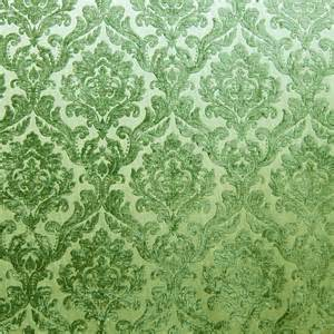 Where To Buy Upholstery Buttons Green Chenille Damask Designer Upholstery Fabric