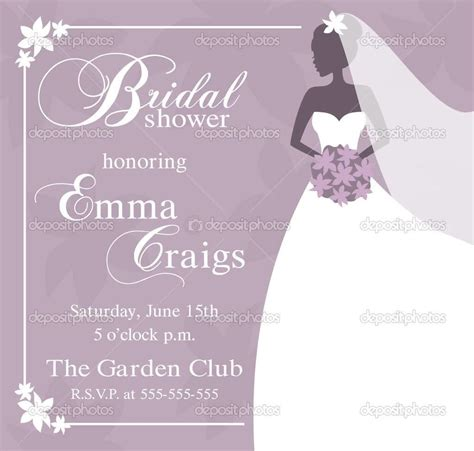 bridal templates bridal shower invitation template 99 wedding ideas