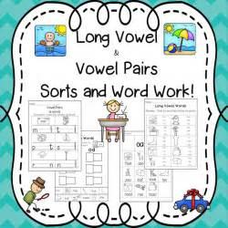 long vowel vowel pairs pack