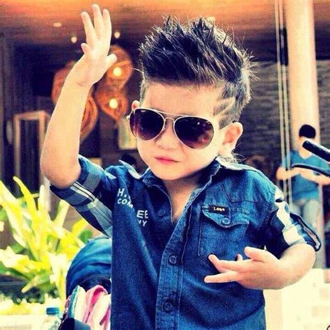 boy haircut with spiked bamgs spiked boy hairstyle hair pinterest hairstyles boy