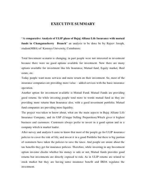 bajaj allianz policy fund value a comparative analysis of ulip of bajaj allianz
