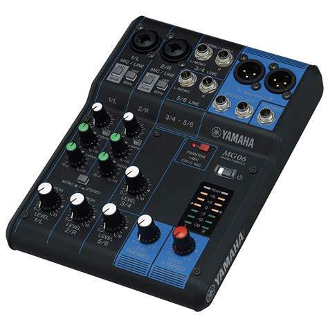 Mixer Audio Yamaha 6 Channel musicworks pro audio live sound unpowered mixers