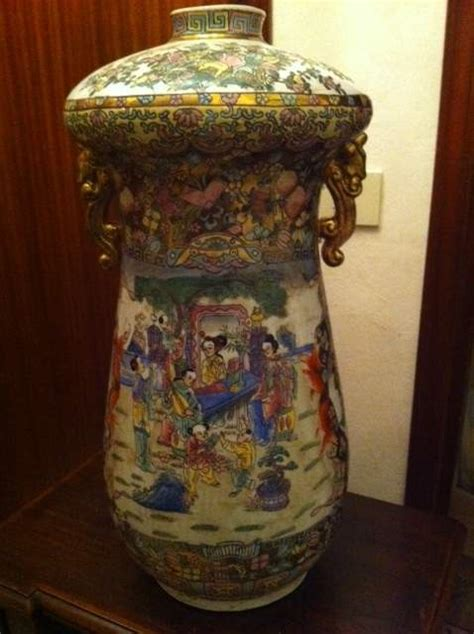 vasi cinesi antichi antiquariato n 2 vasi antichi cinesi dipinti a mano a vicenza kijiji