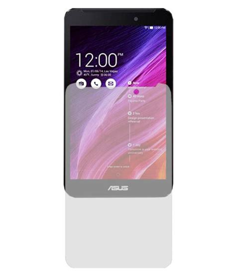 Tempered Glass Fonepad 7 acm clear screenguard for asus fonepad 7 fe170cg screen guards at low prices snapdeal
